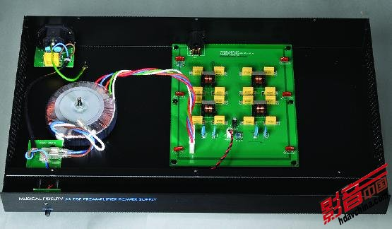 这部前级加入了mm与mc唱头放大电路(a1只有mm放大)和