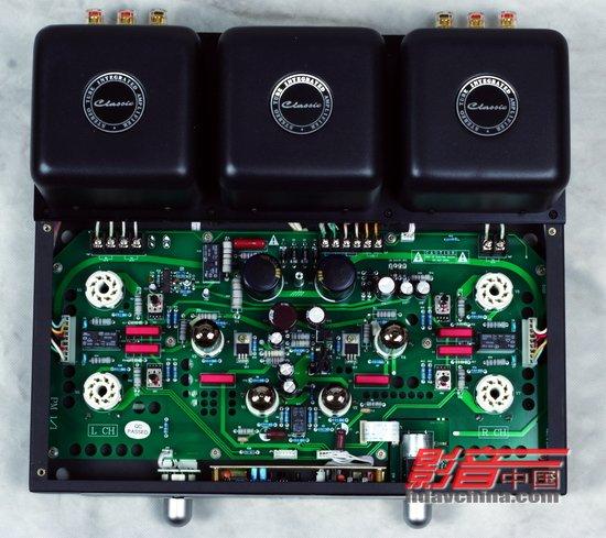 倒相级由12bh7与集成电路构成恒流源式长尾倒相电路