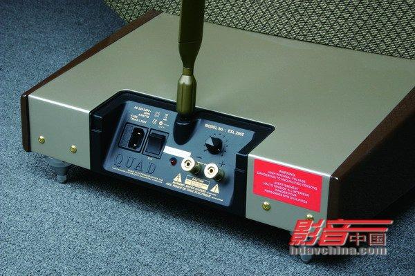 esl-2905静电音箱的接线端子