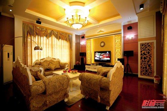 客厅装修,包括家具,电器