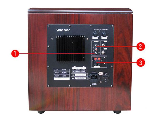 低音炮有四种典型的接线方法