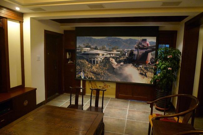 Earthquake全入墙系统,演绎个性的古典中式影院