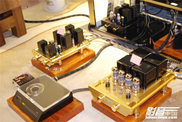 发烧是一种爱:西电300b胆机暨高班goalbon音响产品在