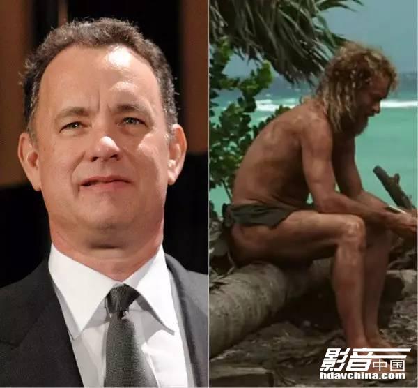 汤姆·汉克斯:《荒岛余生》