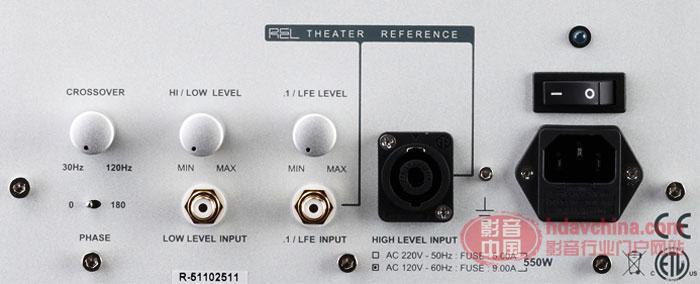 享受英伦影院效果-英国专业REL低音炮