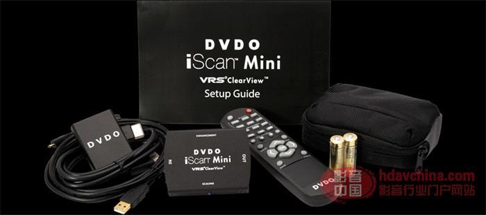 小当家的大世界DVDOiScan Mini 4K超高清视频增强系