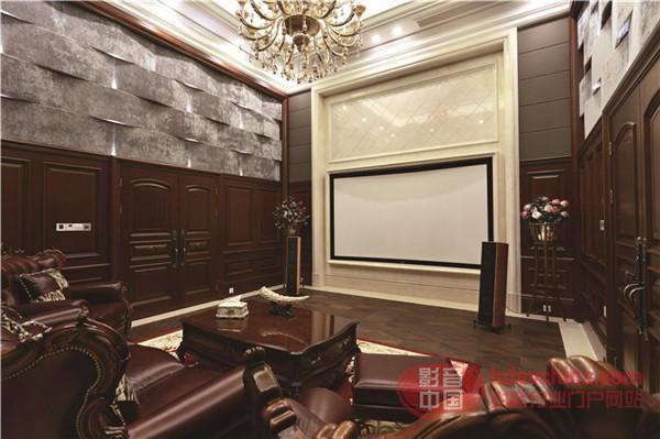 """集影音娱乐于一体的高端系统 """"赋格影音"""" 宁波市区别墅方案"""