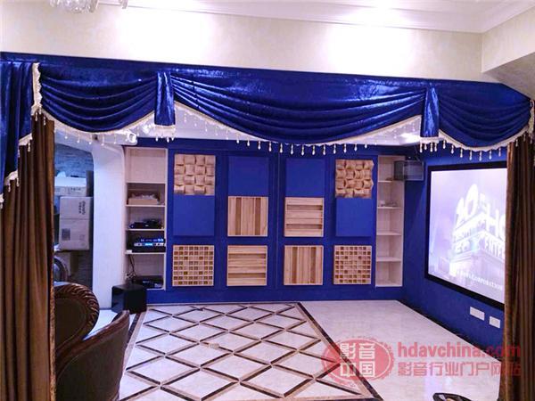 客厅与影院的完美融合-嘉煌影音成都雅居乐别墅案例赏析