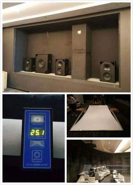 4K宽银幕+数字影院音响构建的震撼视听效果-厦门保利叁仟栋售楼处