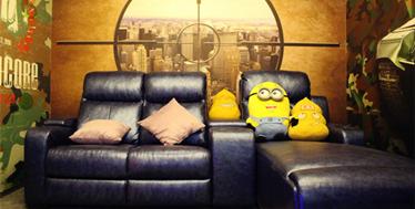 黄金地段的多功能娱乐空间-一起看微影院·郑州世界店案例欣赏