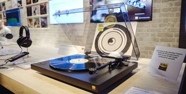 年轻人喜欢的黑胶唱片机-Sony PS-HX500