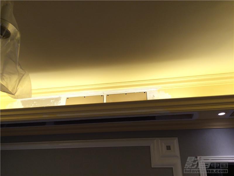 成都城南天府客厅隐形影院案例