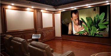地下室的专业改装-国宾壹号美式风格私人影院