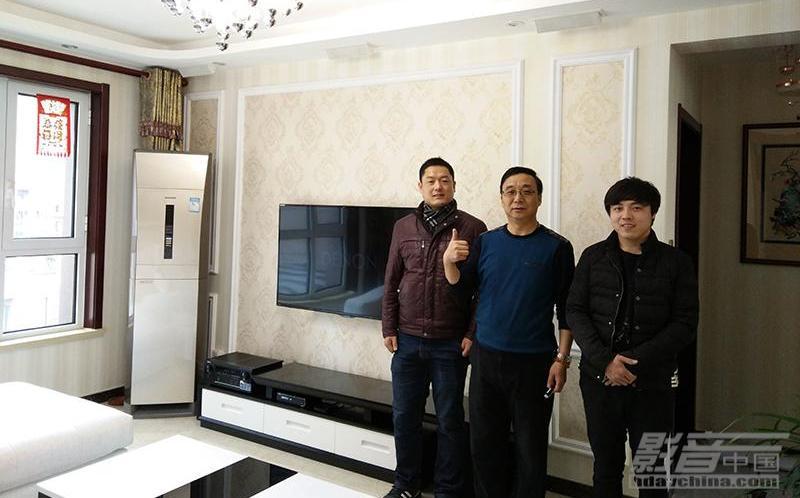 4.3万打造的天津滨海隐形客厅影院