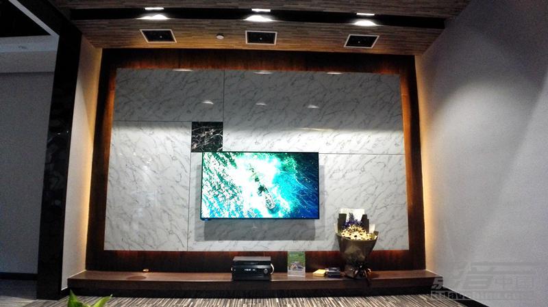客厅影院,你可以有另外一种风格-桐乡羽嘉电子客厅影院案例