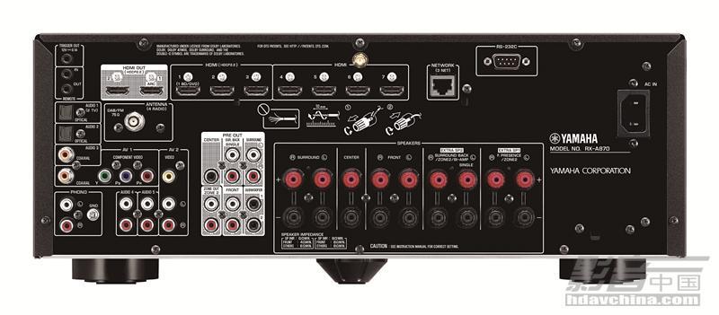 拒绝将就,YAMAHA RX-A870多声道AV功放