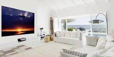客厅影院设计实用新手谈(四):电视or投影机