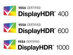 HDR认证也要分级,VESA划分三档认证标准