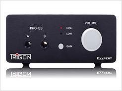 定位入门级耳放市场 德国精工Trigon推出其首款耳机放大器Exxpert