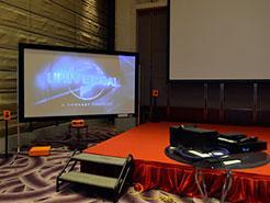 LG全球首台4K激光投影机HU80倩影