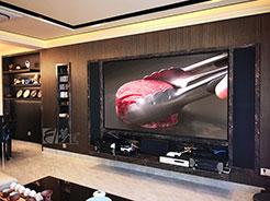 享受生活,设计生活 影音设计师家的客厅影院