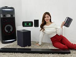牵手Meridian,LG发布SK10Y Soundbar等多款产品