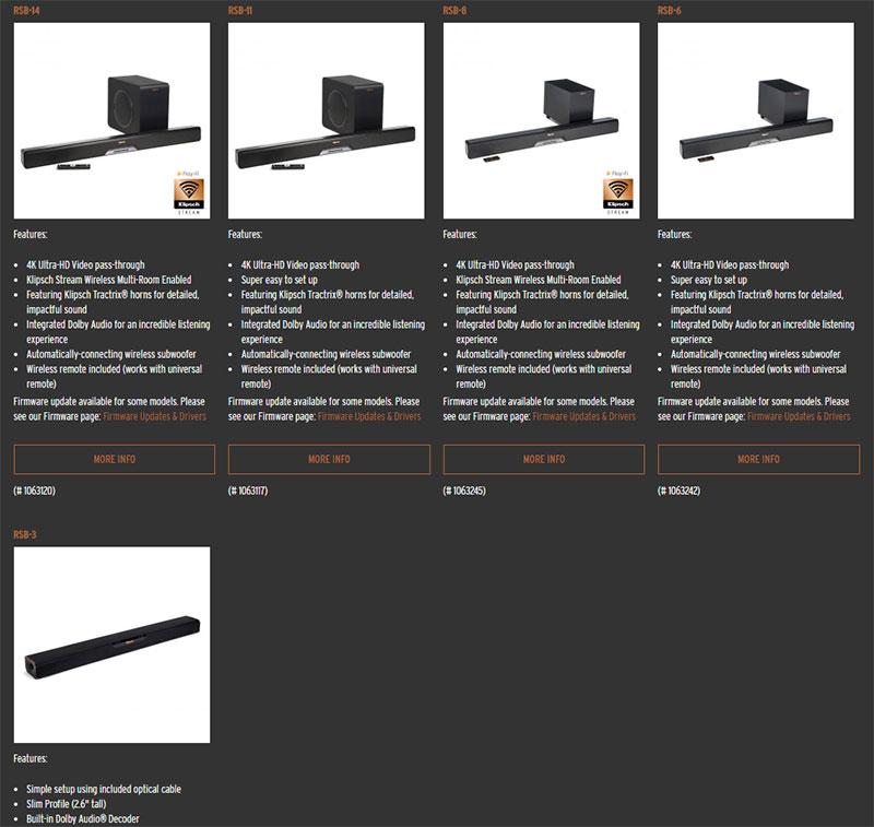 Klipsch RSB-3 Soundbar:客厅影院入门好选择