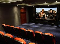 高级影院标准,企业观影空间-辽宁阜新24座全高清3D阶梯影院