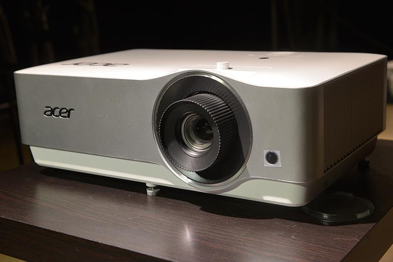 直击:主流4K HDR投影机评测之ACER h7850