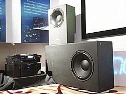 悦声达公司展示ASCENDO高性能家庭影院音箱