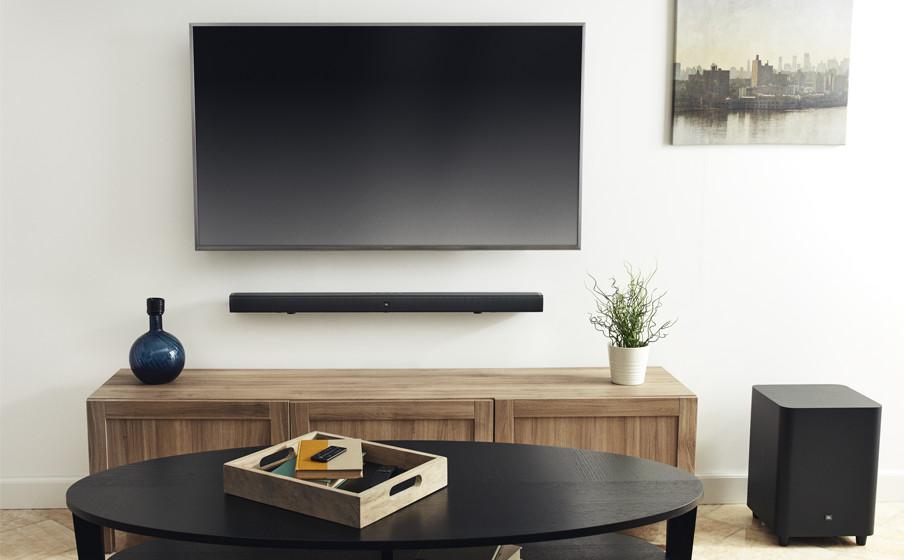 JBL BAR影霸系列条形音响系统,为你带来家庭娱乐新生态