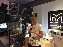 CIT2018专访:深圳市新泽宇音响科技有限公司总经理余业祺先生