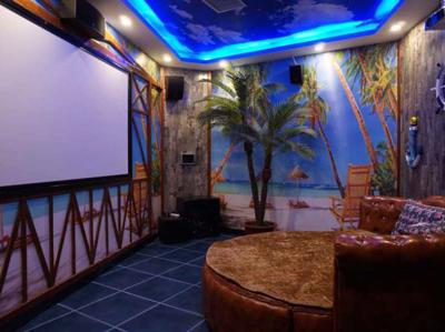 观影、K歌、轰趴一站式多元娱乐-聚空间点播影院甘肃武威店