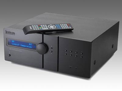 最多可提供11声道输出 Lexicon MC-10环绕解码前级放大器